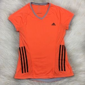 Adidas Running Small Orange Supernova Top